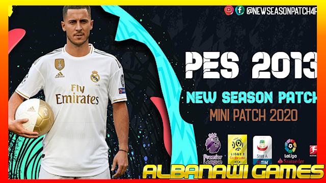 تحميل باتش PES 2013 New Season Mini Patch 2020 من الميديا فاير