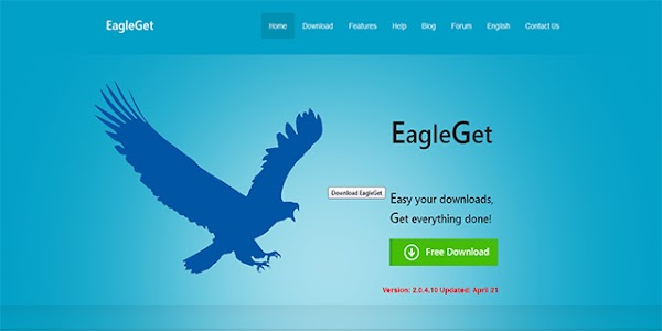 Software Download EagleGet, Alternatif IDM!