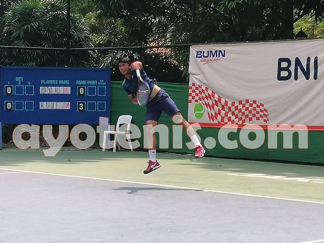 Hasil Pertandingan Tennis Open di Jakarta, Rabu 20 November 2019