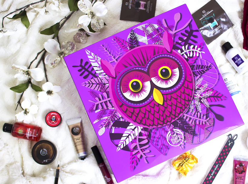 The Body Shop 24 Days of the Enchanted Advent Calendar Review!
