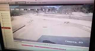 Vídeo mostra acidente em que homem teve perna arrancada e outra dilacerada