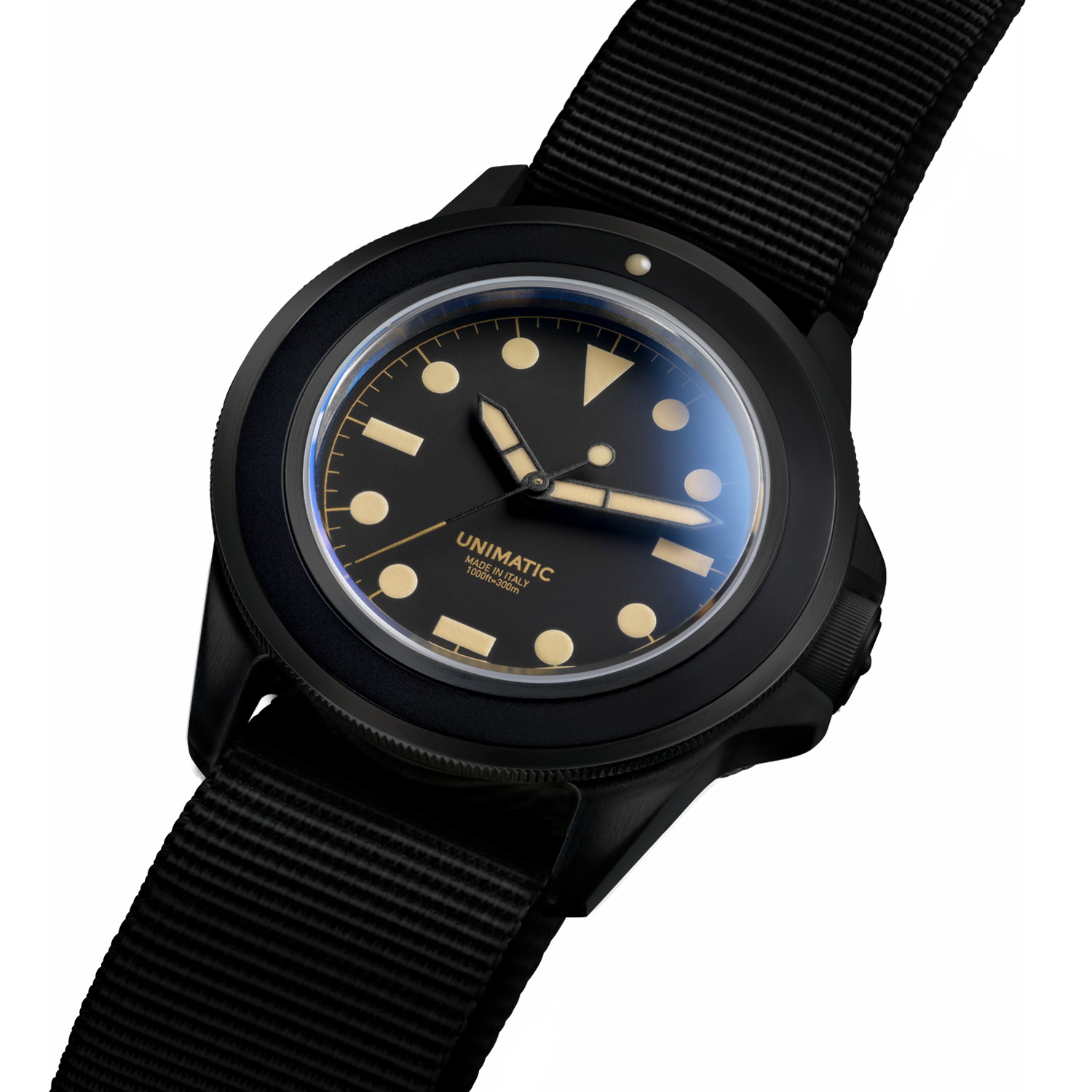 watches concept black automatique ocean fr pvd master click product blackout