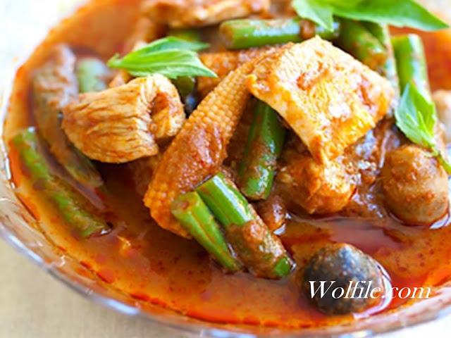 Jungle Curry Recipe #Spicy