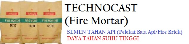 Produk Semen Tahan Api Technocast