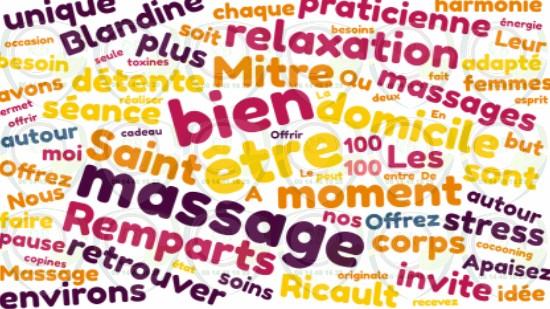 Massage à domicile autour de moi à Saint Mitre les Remparts;