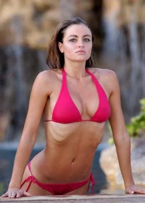 Have thought maria kanellis in bikini