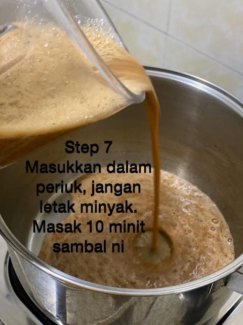 masak sambal laksa