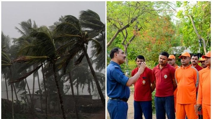 Cyclone 'wind' hurts to Gujarat coast Dismissing people and causing up to six lakh people,www.thekeralatimes.com