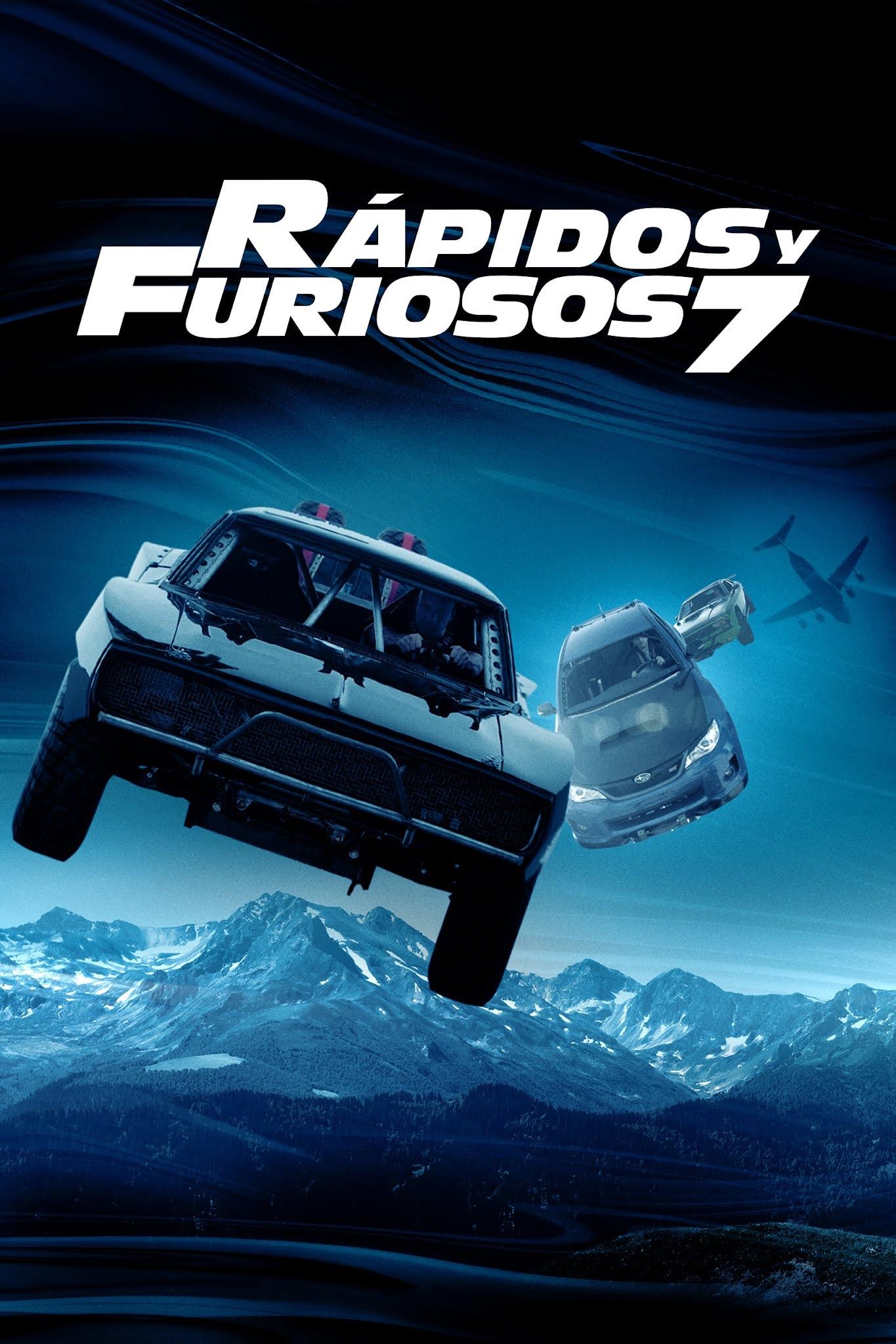Rápido y Furioso 7 (2015) [Open Matte] WEB-DL 1080p Latino