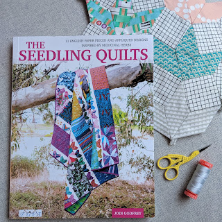 The Seedling Quilts book, english paper pieces