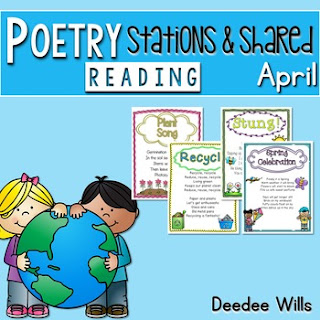 https://www.teacherspayteachers.com/Product/Poetry-for-April-626159