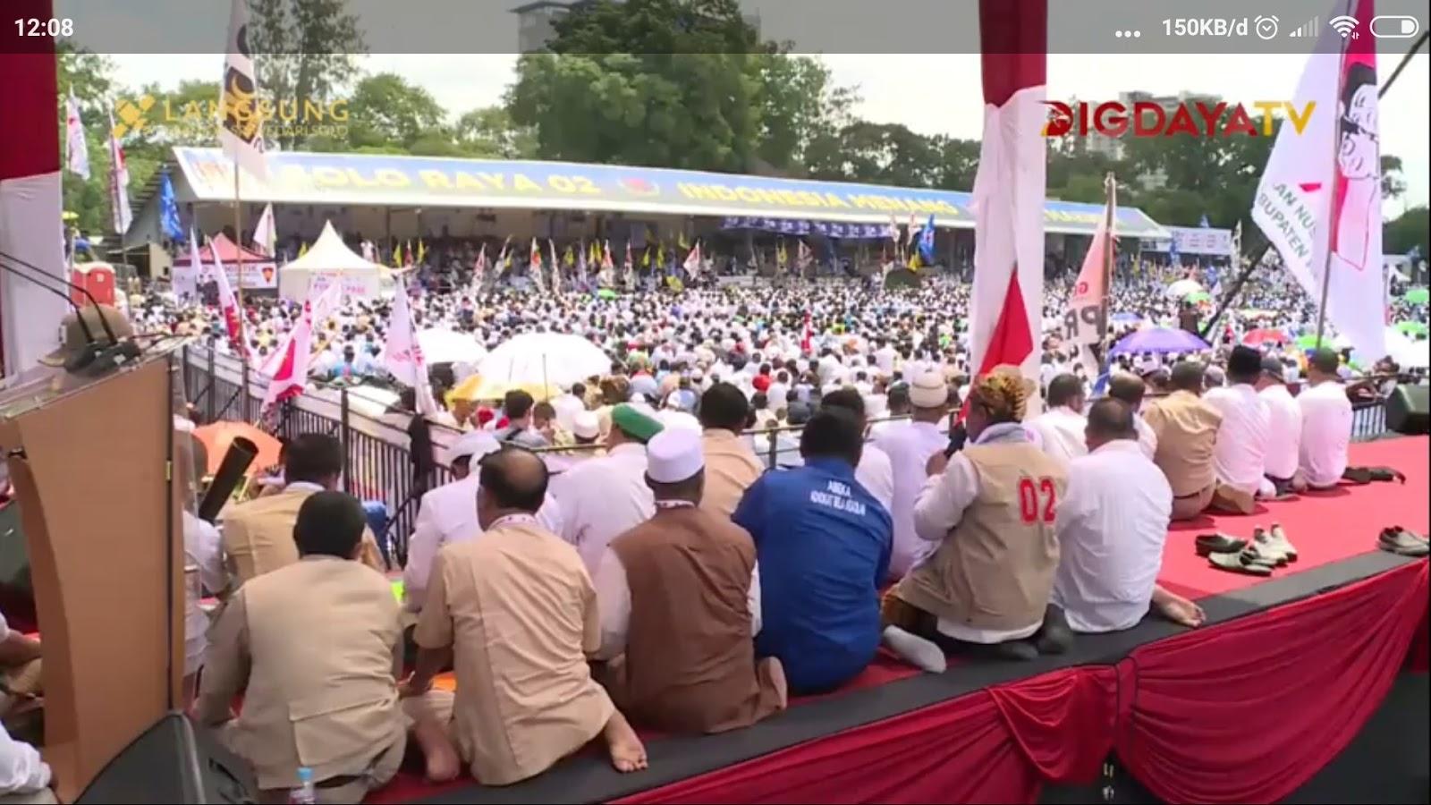 Penampakkan Dhuhur Berjamaah di Sriwedari, Genderuwo Terbirit-Birit