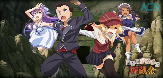 Download Ryuugajou Nanana no Maizoukin BD Sub Indo : Episode 1-11 END | Anime Loker