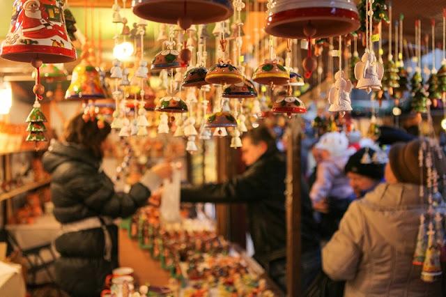 The first Christmas Market Festival in Hanoi, Vietnam 1