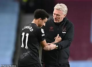 West Ham hopeful of signing Lingard from United permanently