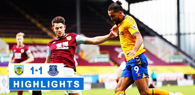 Burnley vs Everton Highlights