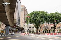 Kompliziertes Straßennetzwerk in Kuala Lumpur www.WELTREISE.tv
