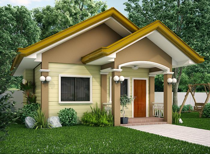 15 Beautiful Small House Designs  2 Bedroom. 2 Bedroom House Designs Philippines   Bedroom Style Ideas