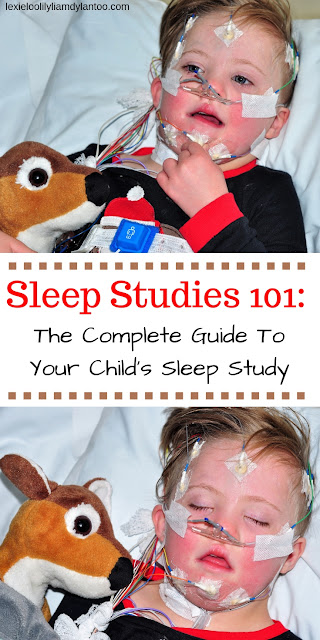 Sleep Studies 101: The Complete Guide To Your Child's Sleep Study #sleepstudy #parenting #kidshealth #Downsyndrome