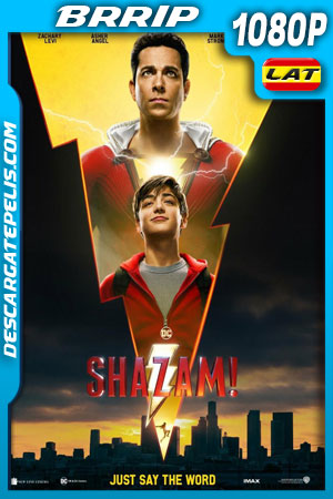 ¡Shazam! (2019) BRrip 1080p Latino – Ingles