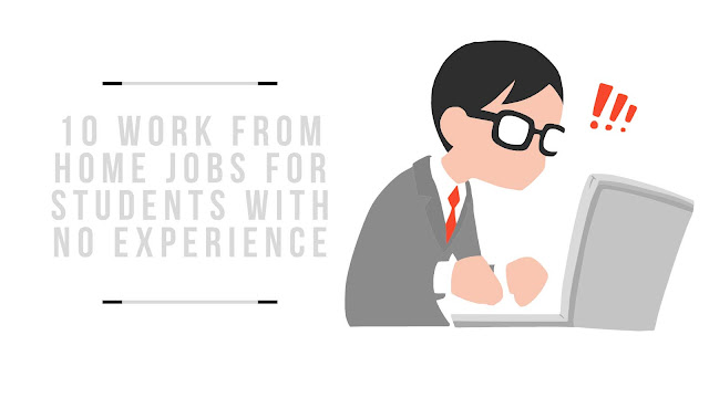 10 Work From Home Jobs For Students With No Experience