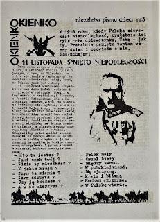 Okienko - Niezależne Pismo Dzieci 1986