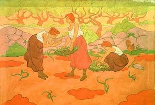 Paul Ranson pour  l'intérieur de Bing - 3 femmes à la récolte © D. Balloud