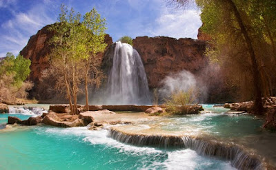Air Terjun Havasu - Grand Cangon National Park