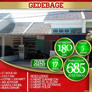 Rumah Over Kredit Rumah Take Over Gedebage