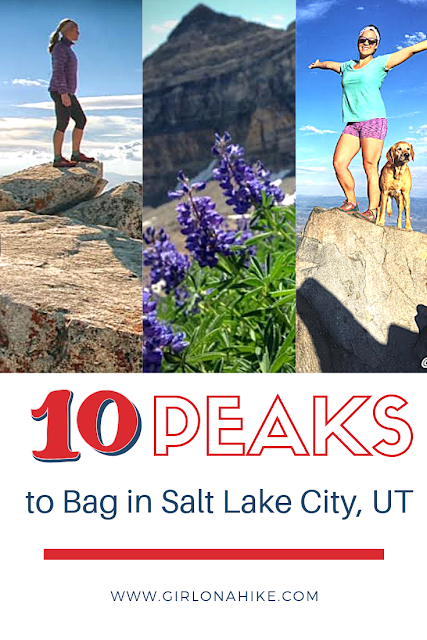 Top 10 Peaks to Bag in Salt Lake City