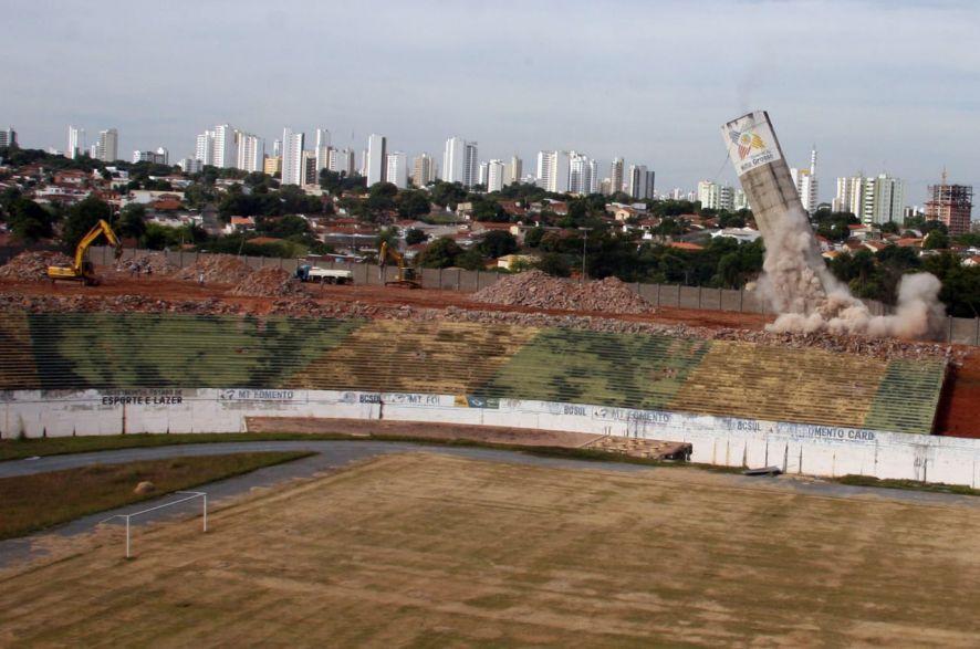 Demolição Estádio Verdão