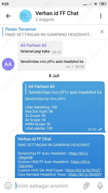 grup settingan ff auto headshot