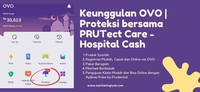 keunggulan OVO | Proteksi Hospital Cash