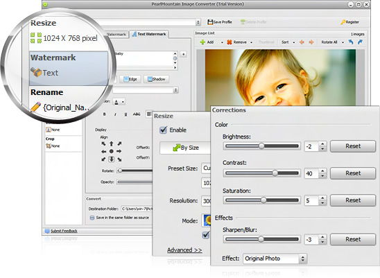 free Pearlmountain image convertor