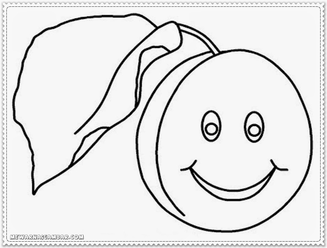 Coloring Pages Of Apricot Printable