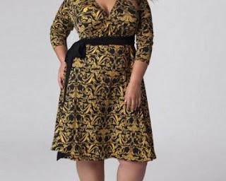 model baju atasan batik bawahan polos