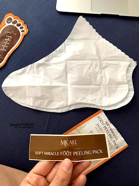 limonian mjcare çorap tipi ayak peeling maskesi incelemesi 4