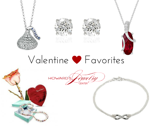 Howard's Valentine Faves + Win $100 Amazon Card and 24K Dipped Rose