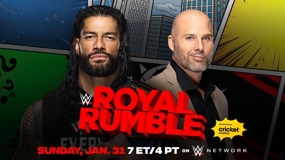 Adam Pearce engana Roman Reigns e anuncia substituto para o WWE Royal Rumble