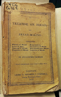 """A title page for """"Treatise on Bread and Bread-making."""""""