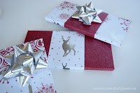 Gift Wrapping with Scrapbook Paper