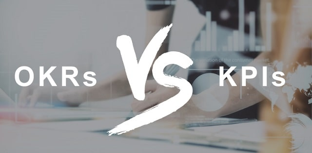 okr vs kpi objectives key results versus performance indicators business goals