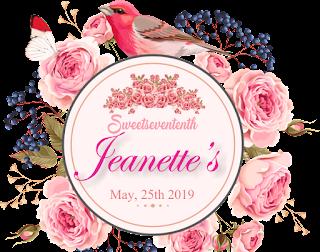 JEANETTE'S SWEET17TH 25052019 @FOURPOINTSSEMINYAK-BY SHERATON - BALI
