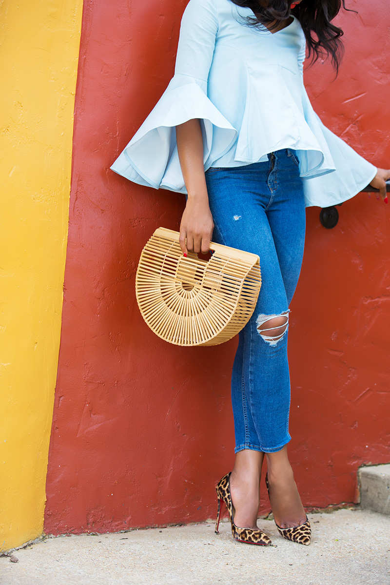 skinny jeans, cult gaia bag, www.jadore-fashion.com