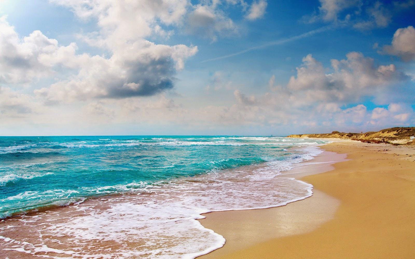 Foto van zee en strand