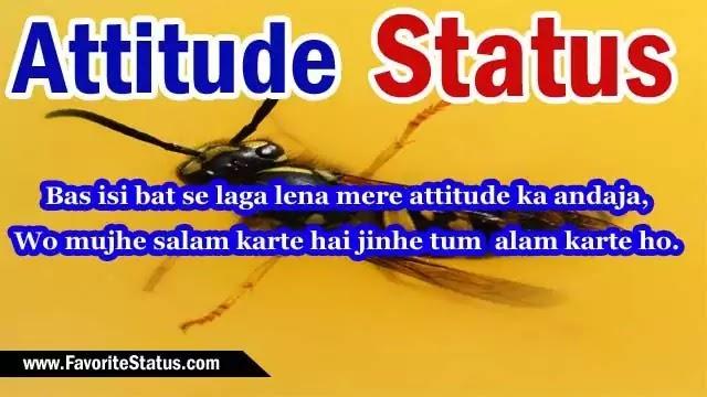 Best Attitude Status Collection in Hindi | बेस्ट एटीट्यूड स्टेटस हिंदी