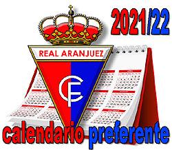 CALENDARIO: Real Aranjuez Preferente