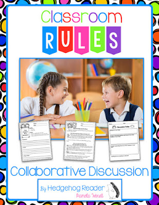 Using collaborative discussions to teach classroom rules.