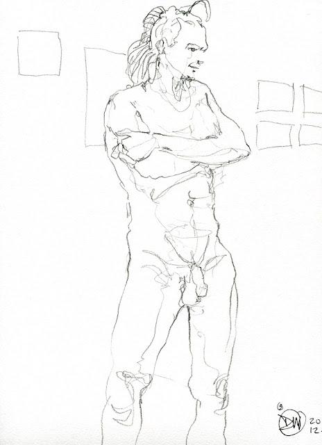 5 minute sketch 20121211 by David Meldrum