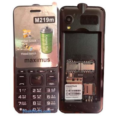 maximus-m219-flash-file